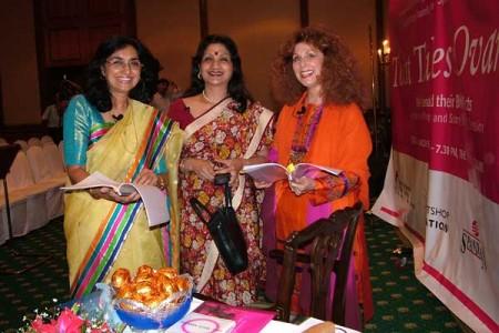 Three women in India